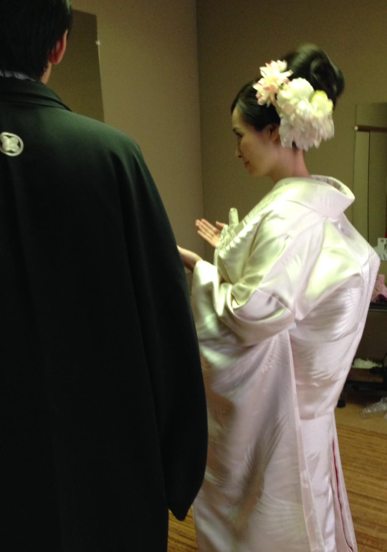北岡神社にて
