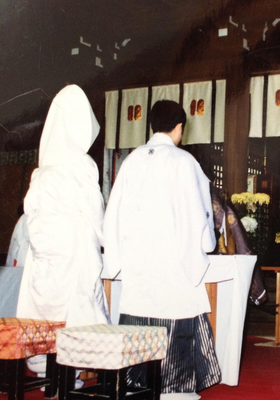 菊池神社 にて