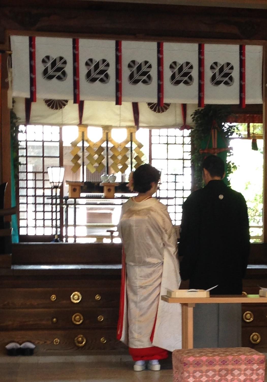 阿蘇神社 にて